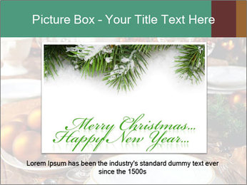 Christmas table PowerPoint Template - Slide 15