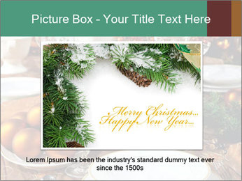 Christmas table PowerPoint Templates - Slide 16