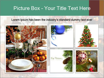 Christmas table PowerPoint Templates - Slide 19