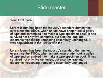 Christmas table PowerPoint Template - Slide 2
