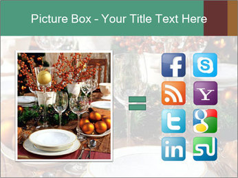 Christmas table PowerPoint Template - Slide 21