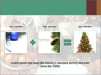 Christmas table PowerPoint Templates - Slide 22