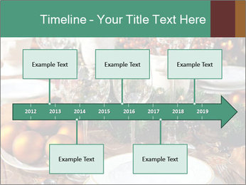 Christmas table PowerPoint Template - Slide 28