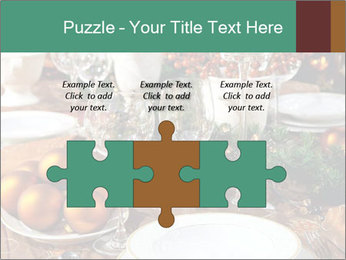 Christmas table PowerPoint Template - Slide 42