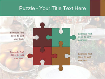 Christmas table PowerPoint Template - Slide 43