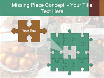 Christmas table PowerPoint Template - Slide 45