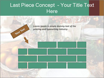 Christmas table PowerPoint Template - Slide 46