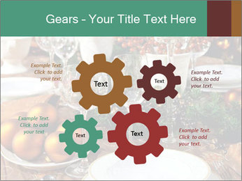 Christmas table PowerPoint Template - Slide 47
