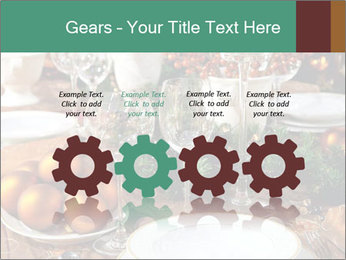 Christmas table PowerPoint Template - Slide 48