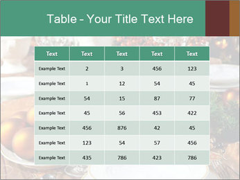 Christmas table PowerPoint Template - Slide 55
