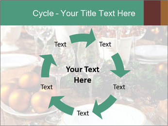 Christmas table PowerPoint Template - Slide 62