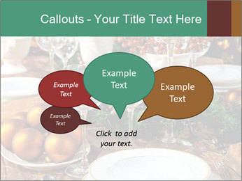Christmas table PowerPoint Template - Slide 73