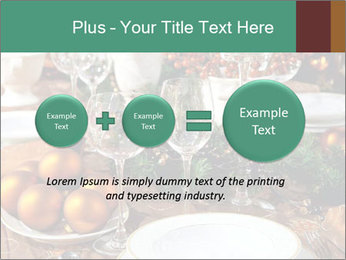 Christmas table PowerPoint Templates - Slide 75