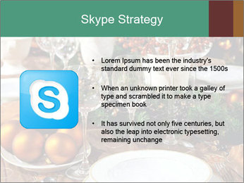 Christmas table PowerPoint Template - Slide 8