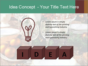 Christmas table PowerPoint Template - Slide 80