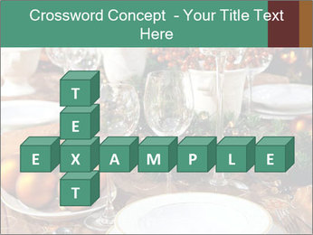 Christmas table PowerPoint Template - Slide 82