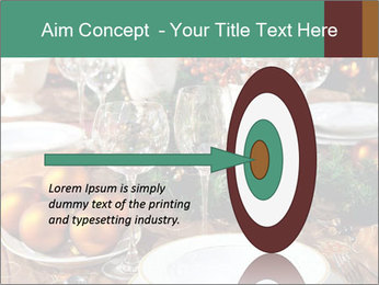 Christmas table PowerPoint Template - Slide 83