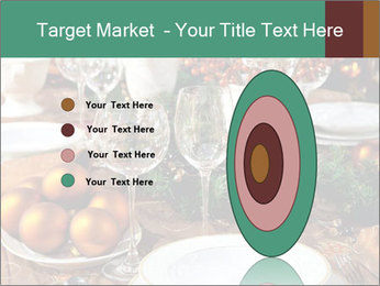 Christmas table PowerPoint Template - Slide 84