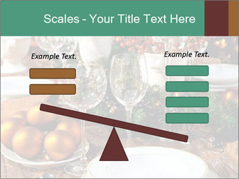 Christmas table PowerPoint Template - Slide 89