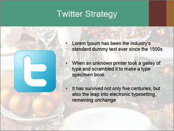 Christmas table PowerPoint Template - Slide 9