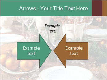 Christmas table PowerPoint Template - Slide 90