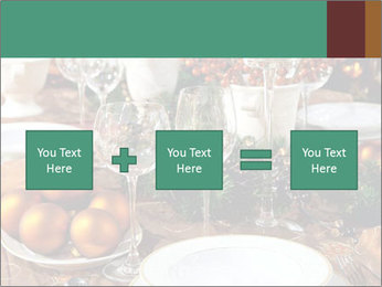 Christmas table PowerPoint Template - Slide 95