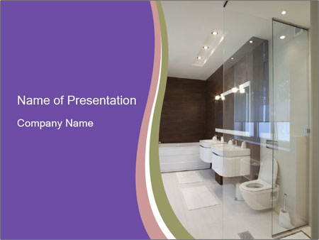 Bathroom PowerPoint Template