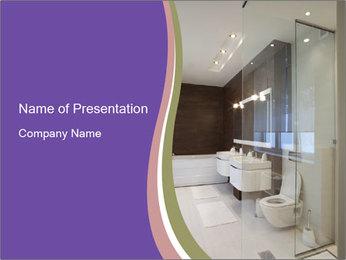 Bathroom PowerPoint Template - Slide 1