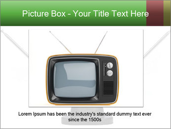 Television antenna PowerPoint Template - Slide 15