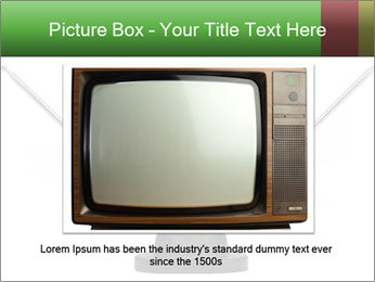 Television antenna PowerPoint Template - Slide 16
