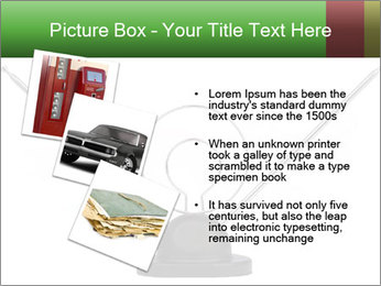 Television antenna PowerPoint Template - Slide 17