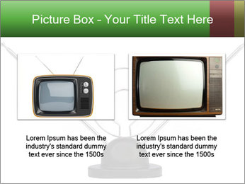 Television antenna PowerPoint Template - Slide 18