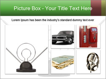 Television antenna PowerPoint Template - Slide 19