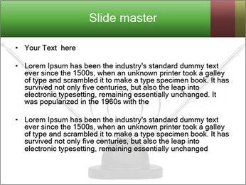Television antenna PowerPoint Templates - Slide 2