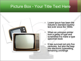 Television antenna PowerPoint Template - Slide 20