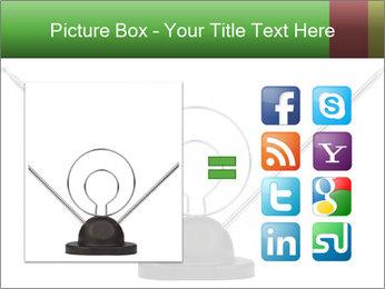 Television antenna PowerPoint Templates - Slide 21