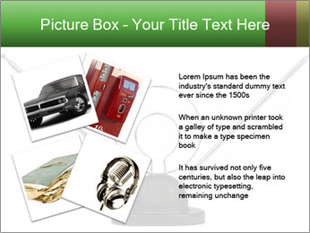 Television antenna PowerPoint Template - Slide 23