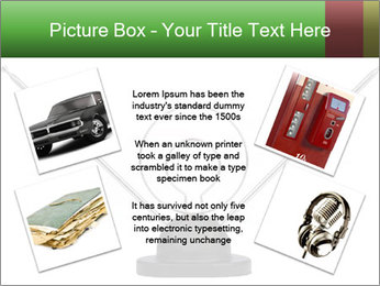 Television antenna PowerPoint Template - Slide 24