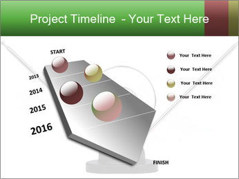 Television antenna PowerPoint Template - Slide 26