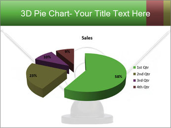 Television antenna PowerPoint Template - Slide 35