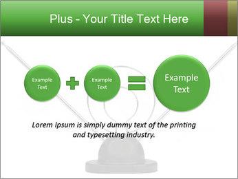 Television antenna PowerPoint Templates - Slide 75