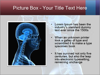 Human brain PowerPoint Template - Slide 13