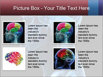 Human brain PowerPoint Template - Slide 14