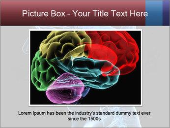 Human brain PowerPoint Template - Slide 15
