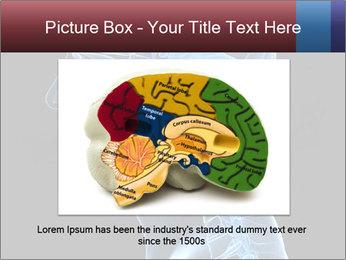 Human brain PowerPoint Template - Slide 16