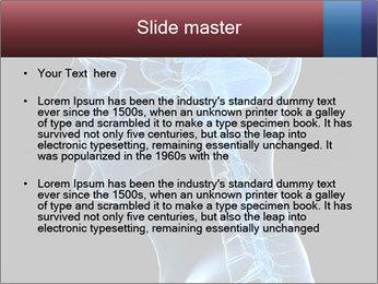 Human brain PowerPoint Template - Slide 2