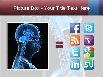 Human brain PowerPoint Template - Slide 21