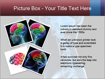 Human brain PowerPoint Template - Slide 23