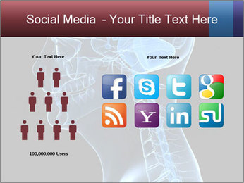 Human brain PowerPoint Template - Slide 5