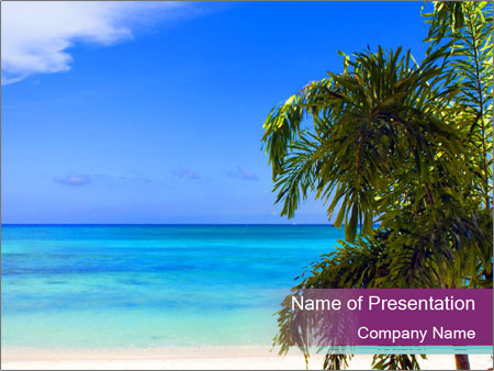 Island Paradise PowerPoint Template